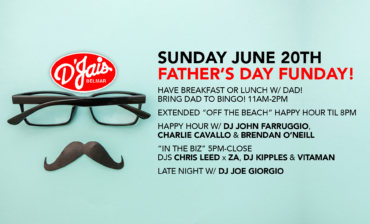 Father's Day Funday! Bring Dad to Bingo 11A-3P!